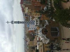Gaudi house - Guell Park- Barcelona