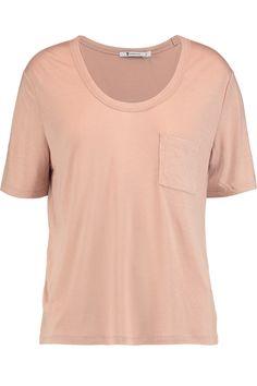 T BY ALEXANDER WANG Jersey T-Shirt. #tbyalexanderwang #cloth #t-shirt