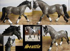 Commission: cust Schleich Lipizzaner mare by Schleichgirl1976.deviantart.com on @DeviantArt