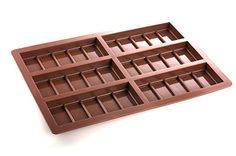 This 6 cell chocolate bar mold is perfect for making your own small home made chocolate bars. Traditionally rectangle shaped segmented chocolate bar. This mold will make 75g bars measuring 45mm x 115mm and is made of a food grade silicone that can withstand temperatures between -40c to +260c. Making this mold oven, freezer and microwave …