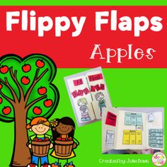 Apples Flippy Flaps! This is a great way to get your students learning about apples in a fun hands-on interactive way! Your students will be engaged and learn about apples in many different ways! Activities included: - Apples Need/Have/Are - Label Parts of an Apple - Life Cycle of an Apple - Colors of an apple - What you can make from an Apple - Apples KWL - Apples Five Senses - Apple Facts - Stamp an Apple - Apple Seeds - Measure an Apple - Favorite Apple Class Graph - Describe an ...