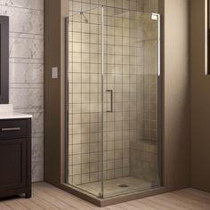 dreamline linea 34 x 72 single sliding frameless shower door