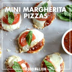 Loaded with tomatoes, mozzarella, and basil, these mini pizza bites are the perfect snack or dinner for just under $10.