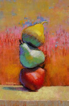 Liz Kenyon - Standing Pears