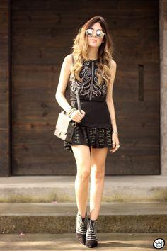 FashionCoolture - 15.07.2015 look du jour Black and silver outfit Lez a Lez (1)