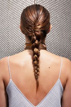 How To Style Hair Without Heat - Wet Hairdos For Summer Quick Hairstyles, Braided Hairstyles, Four Strand Braids, Hair Without Heat, Pretty Braids, Hair Dos, Hair Inspiration, Your Hair, Hair Makeup