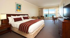 Rydges Port Macquarie Hotel puts guests right on the Hastings River and in the heart of the CBD with stylish Port Macquarie accommodation and FREE WI-FI. Port Macquarie, King, Bed, Rooms, House, Furniture, Memories, Heart, Home Decor