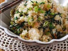小松菜とツナの混ぜご飯♡の画像