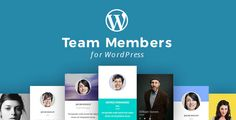 WordPress Team Members Plugin with Layout Builder by unitecms The best way to showcase your companies Team Members inside of Wordpress. Choose from  20 customisable Team Member layouts we created just for your needs. This pack is truly awesome and unique in its design and usability.Team Mem