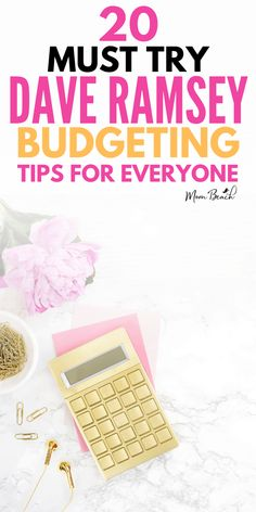 These Dave Ramsey Budgeting Tips are everything you need to know to start managing your money, pay off debt, and build your savings! #daveramsey #money #budgeting #saving #payoffdebt #personalfinance