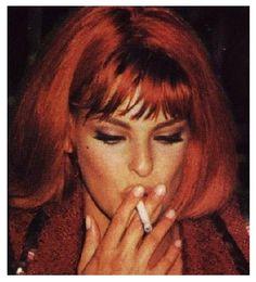 Linda Evangelista backstage for CHANEL by Karl Lagerfeld, 1992