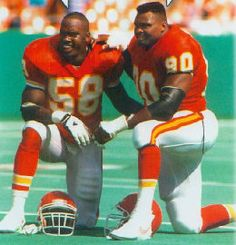 My two favorite Chiefs from the 90's ~ yes!!