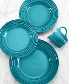 Le Creuset 4-Piece Place Setting - Dinnerware - Dining & Entertaining - Macy's