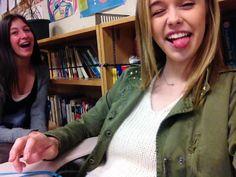 In school. Lofl.
