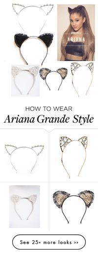 Ariana Grande Cat Ears😍 (c)-alessandragurl Ariana Grande Cat, Ariana Grande Outfits, Ariana Grande Fotos, Mode Kawaii, Cat Ears Headband, Do It Yourself Fashion, Dangerous Woman, New Fashion Trends, Hair Jewelry