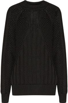 BALMAIN Cable-Knit Sweater. #balmain #cloth #sweater