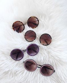"""I don't need another pair of sunnies"" said no one ever. Style: #GeekChic…"