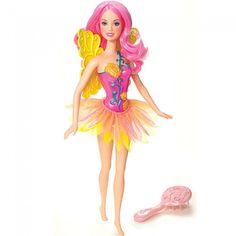barbie fairytopia dolls | Mattel, Barbie Fairytopia Pink Fairy Doll , N5685