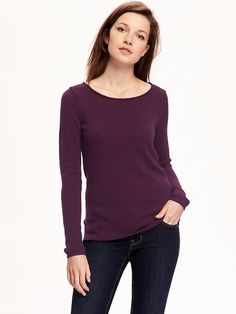 Classic Crew-Neck Pullover for Women $24.94 old navy