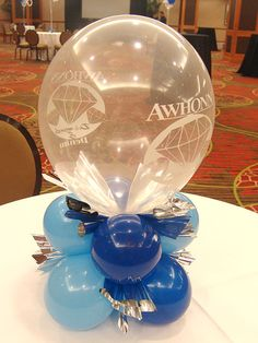 Very special printed balloon centerpieces denver Balloon Decorations Without Helium, Balloon Centerpieces, Centerpiece Ideas, Balloon Logo, Balloon Arch, Graduation Decorations, Birthday Decorations, Party Ballons, Balloon Display