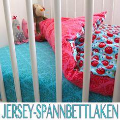 Jersey-Spannbettlaken, Kreativ-FREEbook - farbenmix Online-Shop - Schnittmuster, Anleitungen zum Nähen