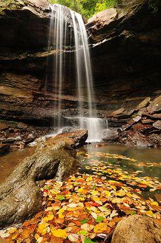 Cucumber Falls, Ohio Pyle State Park, Pennsylvania