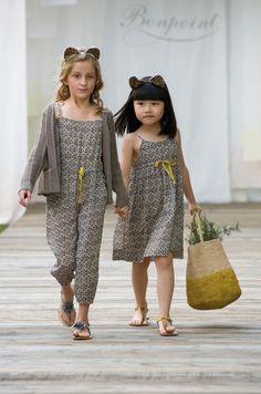 BONPOINT moda infantil 2013 love the look.