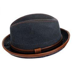 Diego Cotton Trilby Fedora Hat