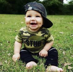 Baby Boy Fashion - A board for adorable baby boy clothes! Cute baby clothes for summer, fall, winter, and spring! Baby Boy Swag, Cute Baby Boy Outfits, Cute Baby Clothes, Kids Outfits, Baby Boy Hats, Toddler Boy Outfits, Babies Clothes, George Hats, Baby George