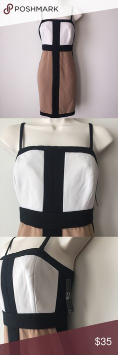 New York & Company Color Block Dress New with tags. US size 8 New York & Company Dresses