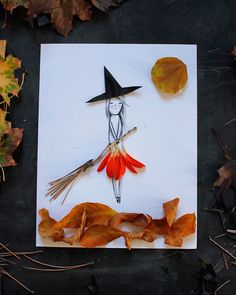 Have a great time while you collect leaves from the forest! You can spend a perfect autumn day and create the cutest characters with all the leaves you find! A great idea from Mer Mag