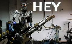 "The Week's Best Robot Videos: The World's Heaviest Metal Band Covers ""Blitzkrieg Bop"""