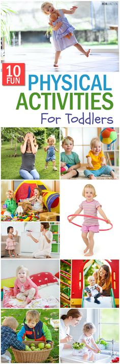 Are you looking forward to take an active interest in your toddler's physical development? Then, check out 10 interesting physical activities for toddlers..