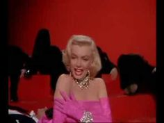 """Diamonds Are A Girl's Best Friend"" from ""Gentlemen prefer blondes"". 1953.  Music & lyrics by Leo Robin."