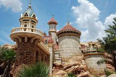 Prince Eric's Castle! Part of Fantasy Land expansion <3
