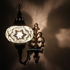 Handmade Moroccan Turkish Mosaic Wall Sconce Lamp Light Large Globe for sale online Wall, Lamp, Light, Sconces, Floor Lamp Lighting, Mosaic, Hanging Lights, Mosaic Wall, Mosaic Lamp
