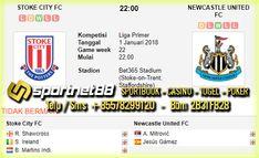 Prediksi Skor Bola Stoke City vs Newcastle United 1 Jan 2018 Liga Inggris di Bet365 Stadium (Stoke-on-Trent, Staffordshire) pada hari Senin jam 22:00 di siarkan langsung di bein Sport 3