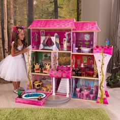 teatime-with-maddie:  I keep seeing this castle dollhouse at Costco and thinking how cute it would be for EAH dolls, And then I'm like…where on earth would I put it?! And don't buy it. But if anyone has room for a giant castle doll house, Costco is the place to go. I can't find it on the US costco site, just the UK one, but they definitely have it in the Costco near me. It's super cute. It's just gigantic.