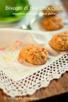 Semplicemente Light: Biscotti di riso e nocciole senza burro senza uova e senza glutine