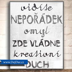 Cedule na zeď, bytová dekorace, dárek Easy Drawings, Be Yourself Quotes, My Room, Cute Art, Motto, Girls Bedroom, Diy And Crafts, Room Decor, Shabby Chic