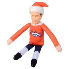 Denver Broncos Peyton Manning #18 Resin Head Player Elf