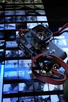 Japanese photography master Herbie Yamaguchi's Leica and contact sheets.
