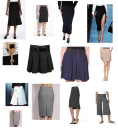 Skirts in Visuals for Kibbe Suggestions in Your Style Forum