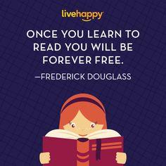 Live Happy Quotes | Frederick Douglas
