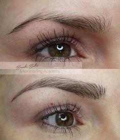 microblading eyebrows - Google Search                                                                                                                                                                                 More