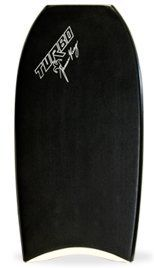 """Turbo Damian King LTD PP 41.5"""" Crescent Bodyboard by Turbo. $250.00. The signature model of 2x World Champion Damian King is an exact replica of the board that Damian rides himself. It features the Concave Slick and the Trilogy Stringer System that Damian and Turbo head shaper Glenn Taylor have developed together. It has a versatile shape that works for both prone and drop knee. The boards widepoint is just below the elbows making it great for riding in the pocke..."""