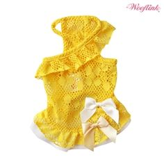 Posh Puppy Boutique is a shop for designer dog clothes and accessories - My Summer Style Dress puppy Shop By Designer - Wooflink Collection, pet toys, collars, carriers, treats, stunning bowls, diaper, belly bands, id tags, harnesses, Unique apparel