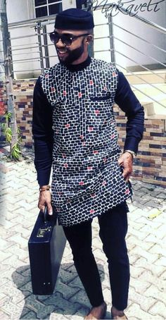 We present you the latest Ankara styles for men for this month in African Wear Styles For Men, Ankara Styles For Men, African Shirts For Men, African Dresses Men, African Attire For Men, African Clothing For Men, Latest Ankara Styles, African Clothes, Nigerian Men Fashion