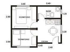 Studio apartments floor plan 300 square feet location for Como disenar una casa de campo