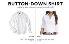 What to Bring on a Weeklong Trip to Europe // Button-Down Shirt